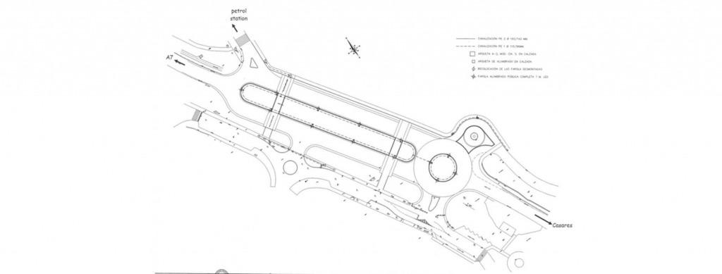 Road improvements - MA-8300 Casares Costam
