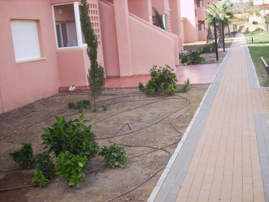 2007 se plantarán jardines
