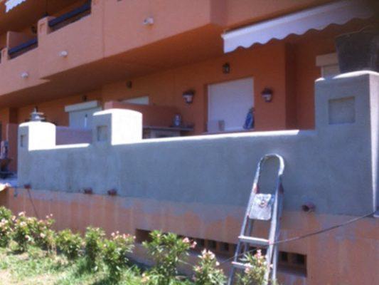 2015 1ª ampliación de la terraza construida en pm4
