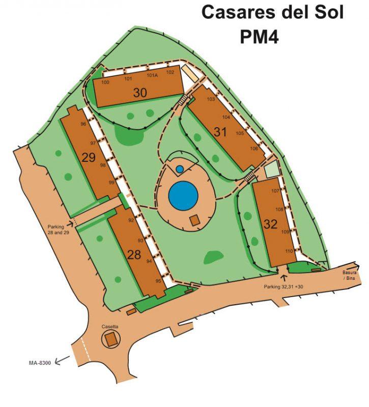 plan of pm4 casares del sol